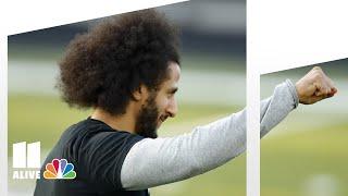 Colin Kaepernick shows off skills to NFL scouts, media in metro Atlanta