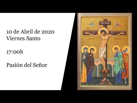 Celebración de los Santos Oficios desde la Basílica de los Milagros