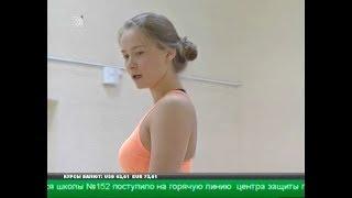 Трехкратная чемпионка мира Екатерина Малыгина провела мастер-класс для челябинских гимнасток