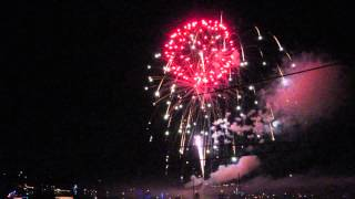 2014 nc holiday flotilla fireworks 6 - Video Youtube
