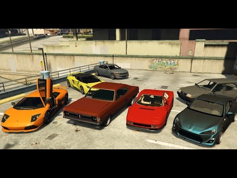 GTA 5 Real Car Mods, Collection #4