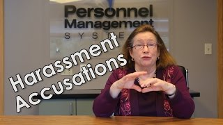 How to Handle Harassment Accusations in the Workplace