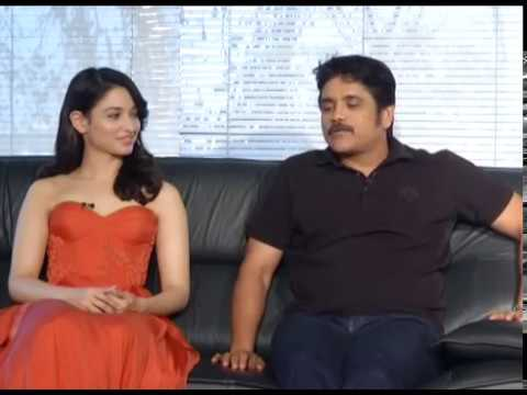 Nagarjuna and Tamannaah Interview about Oopiri