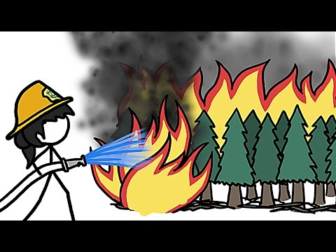 Why Fighting Wildfires Makes Wildfires Even Crazier And Harder To Fight