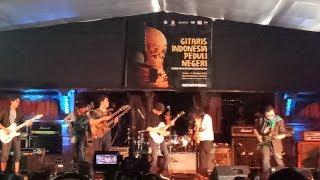 60 Gitaris Gelar Konser Peduli Gempa Lombok, Palu, dan Donggala di Bentara Budaya Jakarta