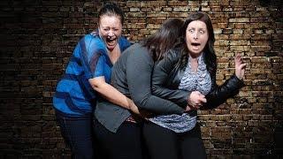 Испуги девушек Приколы с девушками
