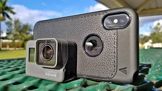 iPhone X vs Gopro Hero 6 - [4K] Comparison!