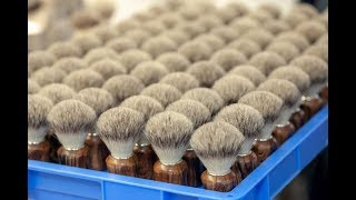 Shaving brush production 100% private label by Zahn Pinsel GmbH