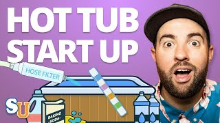 HOT TUB Start Up For Beginners [Step-By-Step Guide]   Swim University