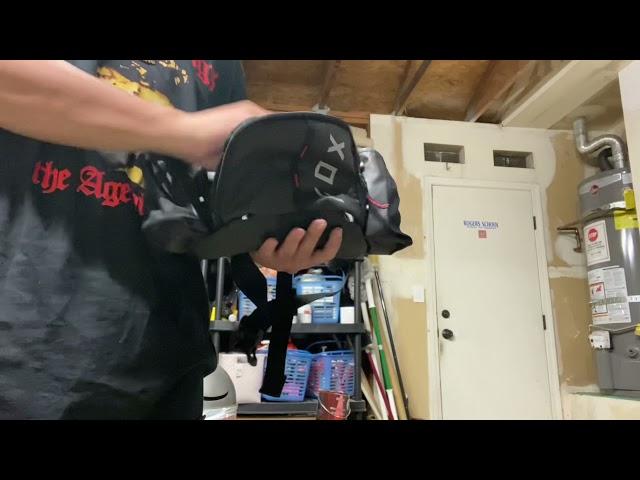 Видео Сумка на пояс Fox Hip Pack (Dark Indigo)