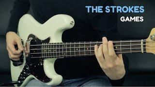THE STROKES - Games - Bass Cover /// Bruno Tauzin