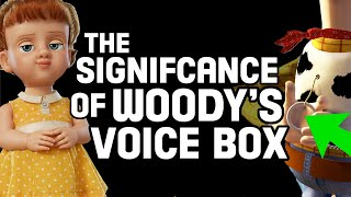 Woody's Voice Box Significance Explained!: Discovering Toy Story 4