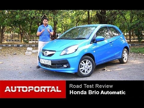 "Honda Brio Automatic Review ""Test Drive"" - AutoPortal"