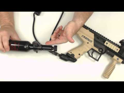 Paintball Remote Installation and Removal