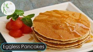 Light & Fluffy Eggless Pancake | Easy Breakfast Recipe ~ The Terrace Kitchen
