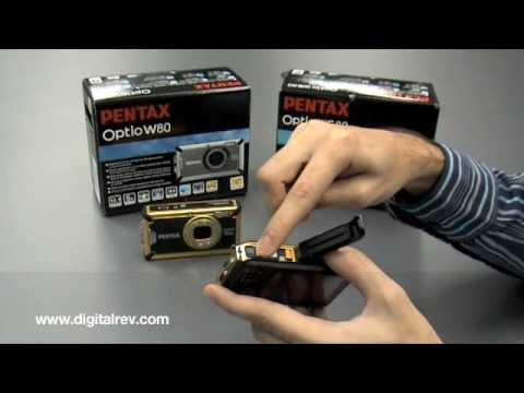 Pentax Optio W80 & WS80 First Impression Video by DigitalRev