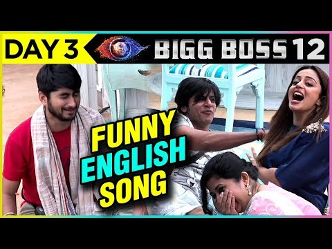Deepak Composes NEW ENGLISH Song In BB House | FUNNY VIDEO | Bigg Boss 12 Episode 3 Update