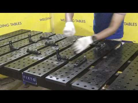 Fixture Welding Table (2D)