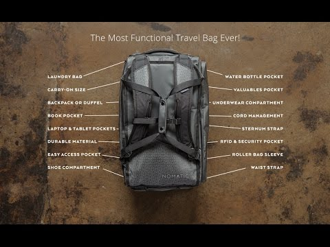 The NOMATIC Travel Bag