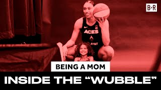 "Life As a Mom Inside the WNBA ""Wubble"""