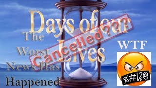 Days of our Lives Cancellation News