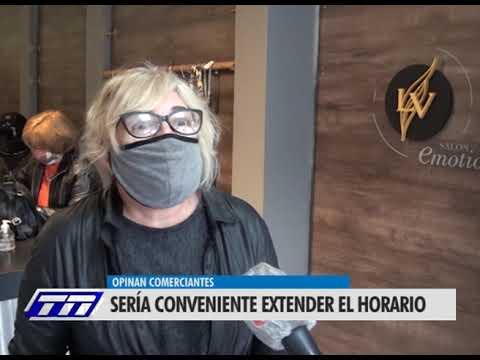 COMERCIANTES PIDEN EXTENDER EL HORARIO LABORAL