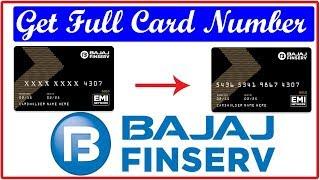 Bajaj Finserv EMI Card Number Kaise Nikale || How to View Full Bajaj Finserv EMI Card Number