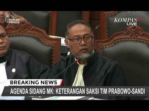 Hakim MK Ancam Usir BW Keluar dari Ruang Sidang