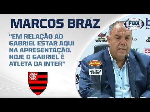 GELO NO SANGUE! Marcos Braz concede entrevista coletiva direto do CT Ninho do Urubu