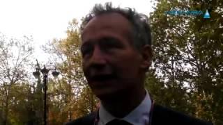 preview picture of video 'Inaugurato a Novara il nuovo parcheggio dell'ospedale'