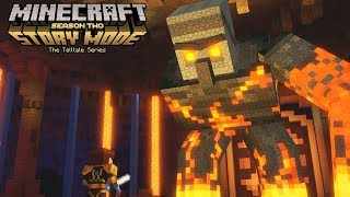 Minecraft Story Mode Season 2 Episode 4 All Boss Fights