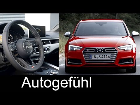 All-new Audi S4 exterior/interior detailed shots with racetrack - Autogefühl