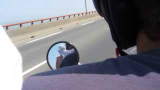preview picture of video 'ME driving on a Moped in La Rochelle'