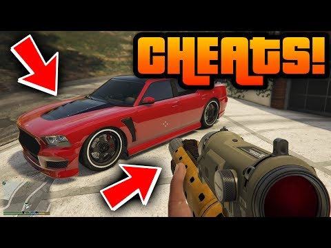 "GTA 5: ""ALL CHEAT CODES 2018!"" - PS4, Xbox One & PC! [Cheats] (Grand Theft Auto 5: All Cheats)"
