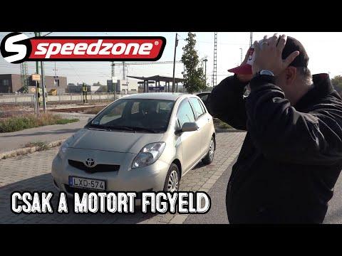 Speedzone-használt teszt: Toyota Yaris 1.3 (2011): Csak a motort figyeld!