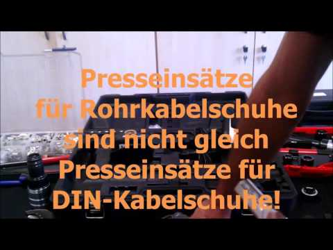 Presszange Crimpzange Akkupresszange Akkukabelschere Cimco Genius 2 0 Hydraulische Kabelschere hydra