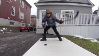Gopro: 9 year old hockey skills – Mathieu Blanchard –