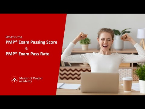 What is the PMP® Exam Passing Score and PMP® Exam ... - YouTube