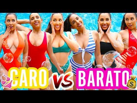 BIKINI CARO VS BARATO 👙 - ADIVINAS EL PRECIO?? ☀️ | Mariale