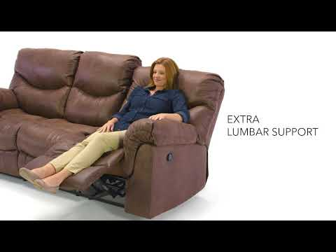 Alzena 7140088 Gunsmoke Reclining Sofa