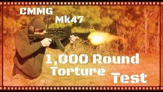 CMMG MK47 Mutant AK AR Hybrid 1000 Round Torture Test HD