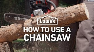 How To Use A Chainsaw to Clear Fallen Trees   Severe Weather Guide