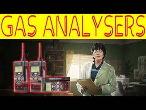 GAS ANALYSERS! SANITARY STANDARDS - Therapist - Escape From