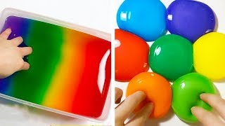 Slime Videos LIVE - Most Satisfying ASMR Video - Crunchy Slime, Iceberg Slime, Jiggly Slime, Rainbow
