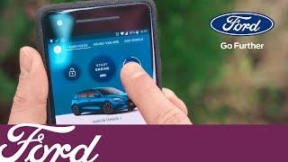 Sådan bruges fjernfunktionerne med FordPass Connect