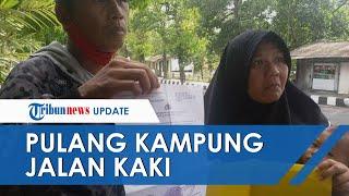 Kisah Haru Satu Keluarga Mudik Jalan Kaki dari Jateng ke Jabar, 2 Bayi Turut Diajak dalam Gendongan