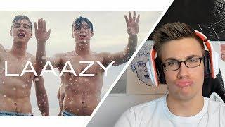 DIE LOCHIS   LAAAZY (Offizielles Musikvideo)   ReactionBewertung