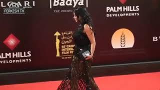شاهد فستان رانيا يوسف الفاضح