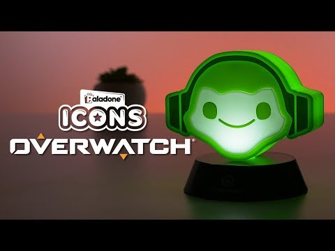 Mini Lampka Overwatch 3D - Lucio