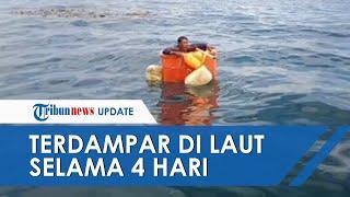 POPULER: Hampir 4 Hari Bertahan Hidup di Tengah Laut, Nelayan Ditemukan Terapung Dalam Bak Ikan
